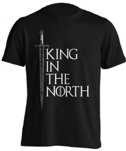 تیشرت طرح THE KING IN THE NORTH