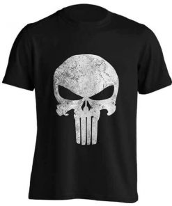 تیشرت طرح PUNISHER SKULL GRUNGE