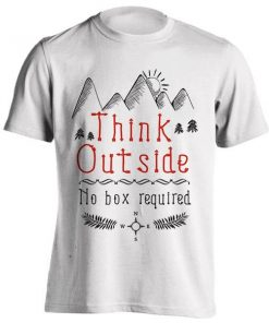 تیشرت THINK OUTSIDE – NO BOX REQUIRED